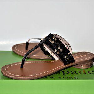 NEW Kate Spade New York Carol Sandal Black Size 9